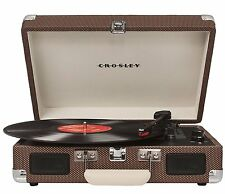 Crosley 3 Speed Record Player Turntable Dynamic Full-Range Stereo Speakers RCA