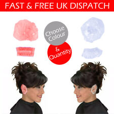 Disposable Shower Ear Caps Covers Bathing Elastic Clear or Pink Cover Protectors