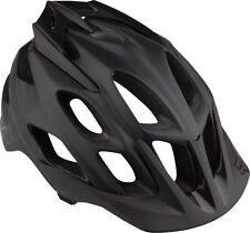 Fox Racing Flux Helmet: Matte Black LG/XL