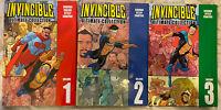 Invincible the Ultimate Collection vol 1 2 3 HC set Kirkman Image Amazon show!