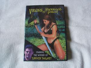 Virgins Of Sherwood Forest (DVD, 2000, Brand New)