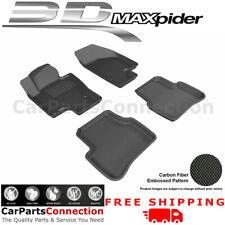 All Weather Floor Mats L1VW01501509 For VW PASSAT 06-10 KAGU Black Maxpider