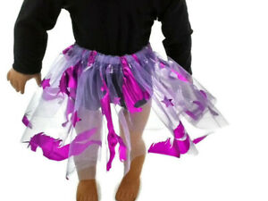 """Lavender Unicorn Tutu 18"""" Doll Clothes Fits American girl dolls Great for Ballet"""