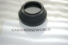 Nikon brand HR-2 rubber screw in lens shade hood for 55mm f1.2 nikkor lens