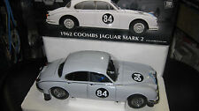 1.18  MODEL ICON 1962 JAGUAR MK2 3.8   COOMBS JAGUAR  #84 BUY 12 LTD EDITION