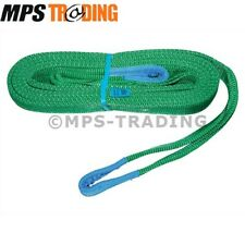 LAND ROVER BRITPART WINCH TOW STRAP /ROPE 5M - 2T WORKING LOAD LIMIT - DA2246