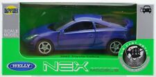 WELLY '02 TOYOTA CELICA BLUE 1:34  DIE CAST METAL MODEL NEW IN BOX