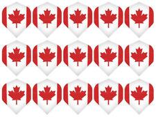 5 New Sets Metronic Standard Dart Flights – Ships w/ Tracking - Canadian Maple