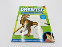 All About Drawing Dinosaurs & Reptiles Paperback Books For Fun Gift New