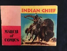 MARCH OF COMICS #110 INDIAN CHIEF, Giveaway Promo, 1954