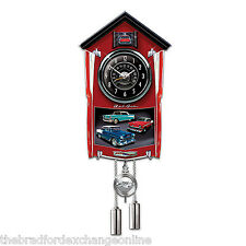 Chevy Bel Air Cuckoo Clock Lights Up With Revving Sound