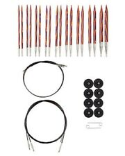 OPTIONS INTERCHANGEABLE RADIANT WOOD CIRCULAR KNITTING NEEDLES SET KNIT PICKS
