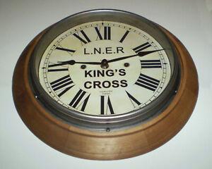 LNER London & North Eastern Railway King's Cross Station / Waiting Room Clock