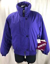 Obermeyer Purple 90s Vintage Kristi Parka Winter Snow Jacket Womens 8 NEW RARE