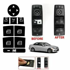 For MERCEDES-BENZ WINDOW BUTTON DECALS STICKERS W204 C250 C300 C350 2008-2014 US