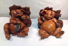 PIG SCULPTURES