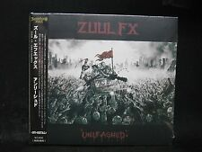 ZUUL FX Unleashed JAPAN CD (IMPORT DISC) No Return Fear Factory Machine Head