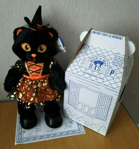 FROM BUILD A BEAR MIDNIGHT SPARKLE CAT WITCH GIFT SET BRAND NEW WITH TAGS