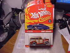 Hot Wheels Classics Series 1 1940's Woodie Orange