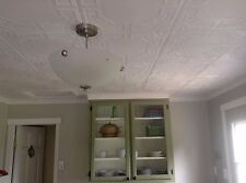 Styrofoam Decorative Ceiling Tile #RM-28 (8 pcs~21 sq.ft) DIY Glue Up on popcorn