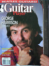 Guitar Player Magazine November 1987 The Beatles George Harrison / David Torn