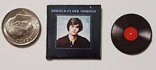 "Dollhouse Miniature Record Album 1"" 1/12 Barbie Donald Clark Osmond"
