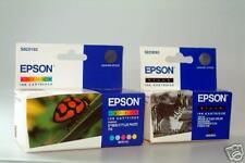 EPSON S020187 + S020110 Stylus Photo 700 750 S020093 original cartridge ohneOVP