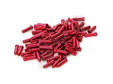 Fine CABLES Aluminio 1,8mm Rojo 50Pz/END CABLES aluminio Red