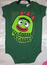 "Yo Gabba Gabba! ""BROBEE"" One Piece Jumper Romper Baby Snap Suit"