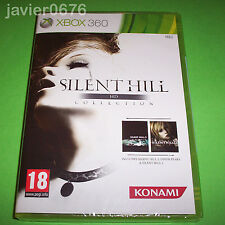 SILENT HILL HD COLLECTION PAL ESPAÑA NUEVO PRECINTADO XBOX 360