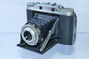 alte Klapp-Kamera AGFA Isolette III mit AGFA Apotar 4,5/85
