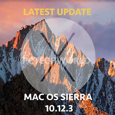 Mac OSX Sierra 10.12.3 Installer Bootable USB Drive for macbook Pro Air iMac os