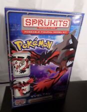 Sprukits: Pokemon Yveltal Model Kit Bandai Japan Legendary Gen 6 Vi Dark Type