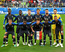 France - 2018 World Cup Final Starting 11 - 8x10 Team Photo