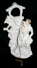 Giuseppe Armani Wedding Sculpture Married Couple W/ Bouquet Italy 0202F Florence