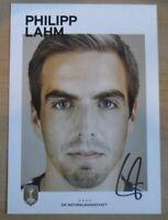 Philipp Lahm Signed 6x4 Photo Card Bayern Munich Germany Genuine Autograph + COA