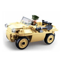 SLUBAN WWII German amphibious vehicle M38-B0690 Schwimmwagen WH