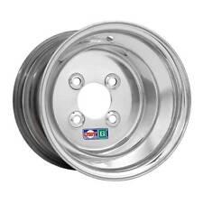 "DWT Alumilite GC Golf Cart Wheel 10x7"" 3+4 4/4 Polished Aluminum 036-02"