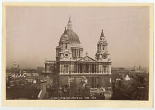 ST. PAULS CATHEDRAL LUDGATE HILL LONDON - PHOTO BY GEORGE W. WILSON