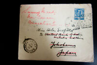 Italy Stamps 1905 Hotel Victoria fwd Cover Yokohama Japan to Ct