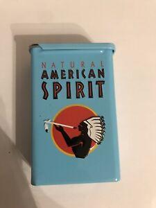 American Spirit Dose Zigarettendose Zigarettenetui Türkis Zigaretten Dose
