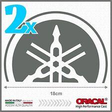2x Grey Yamaha Tmax 01-07 SMALL Diapason Scudo ADESIVI PEGATINA STICKERS