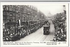 London; Balham, Opening Of The Electric Tramway 15-5-1903 PPC By Pamlin, C1548