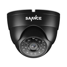 SANNCE 1pcs 900TVL In/Outdoor IR Night Vision CCTV Home Security Dome Camera