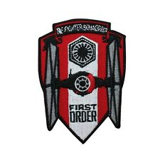 Disney Star Wars First Order Tie Fighter Squadron Patch Officially Licensed Iron