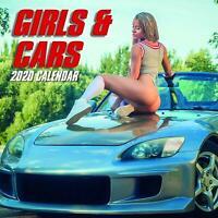 Girls & Cars Calendar 2020