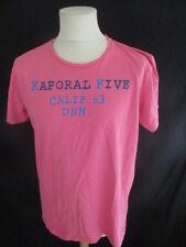 T-shirt Kaporal 5 Rose Taille XXL à - 50%