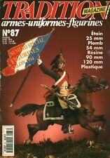 Revue tradition armes uniformes figurines no 87 avril 1994