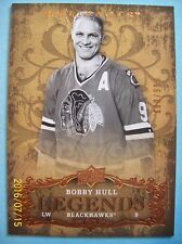 "2008-09 Upperdeck Artifacts ""Legends"" # 138 Bobby Hull!  680/999"
