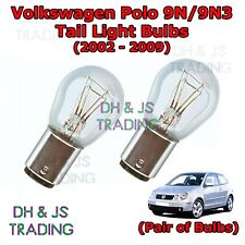 Volkswagen Polo Tail Light Bulbs Pair of Rear Tail Light Bulb Lights (02-09)